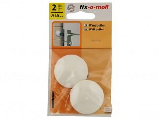 Self-adhesive Wall Buffer Fix-o-moll - 40 mm, White