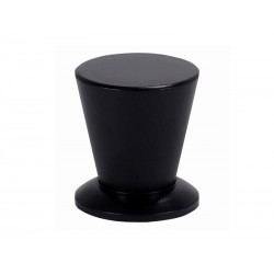 Мебелна дръжка 1005 - С един винт, Черен мат