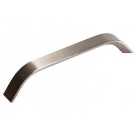 Алуминиева дръжка за мебели 012 - 128 мм, Инокс