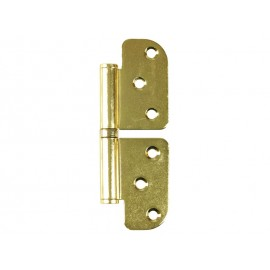 Non-directional Steel Hinge - Gold