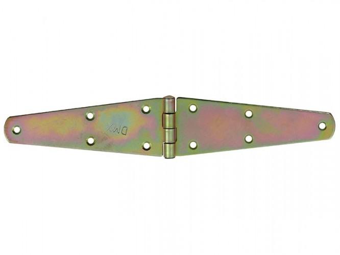 Декоративна шарнирна панта за мебели и кутии ZTS - 250 x 45 мм