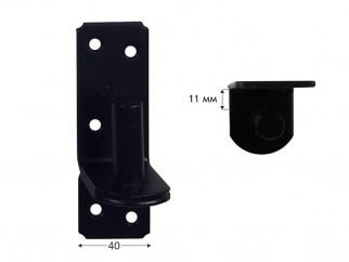 ZP Hinge Pin For Gate Strap - 11 mm, ∅16 мм, Black