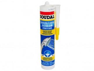 Soudal Sanitar Sealant - 300 ml, White