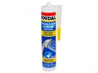 Soudal Sanitar Sealant - 300 ml, Transparent