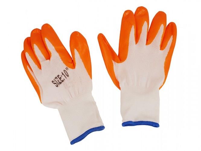 Защитни работни ръкавици топени в нитрил Sparow