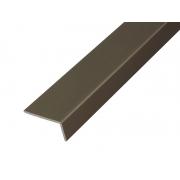 Алуминиев Г-образен профил за мебели PPL18 - 3 метра, Шампанско