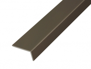PPL18 Aluminium L-shaped Profile For Furniture - Champagne
