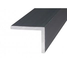 Алуминиев Г-образен профил за мебели - 10 х 10 мм, 3 метра