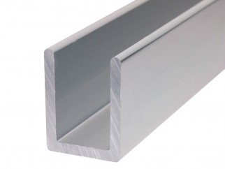 U-shaped Aluminium Profile For Glass