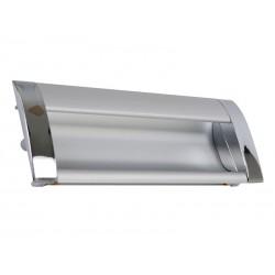 Алуминиева мебелна дръжка за вкопаване 326 - 96 мм