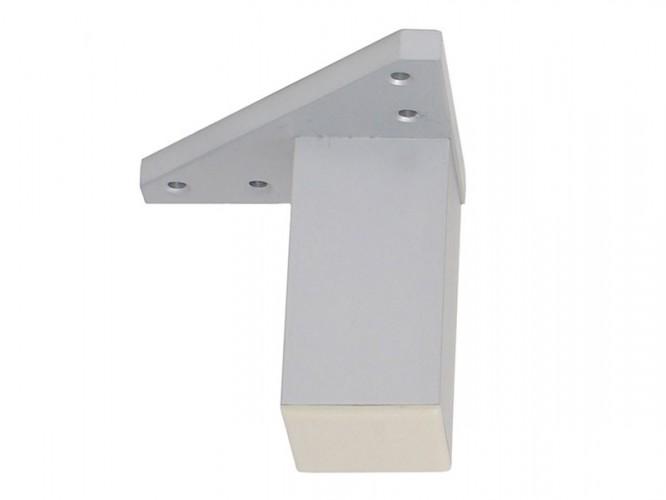 Мебелно краче с усилена монтажна планка KAMA F027E - 80 мм