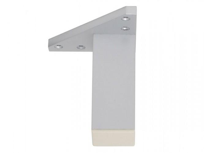 Мебелно краче с усилена монтажна планка KAMA F027E - 100 мм