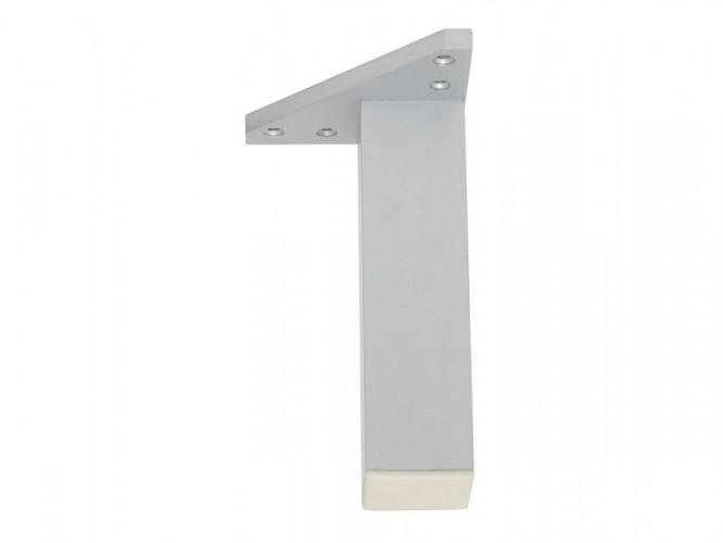 Мебелно краче с усилена монтажна планка KAMA F027E - 150 мм