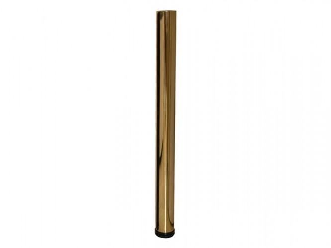 Метален крак за бюра и маси с регулиране 710 - Злато