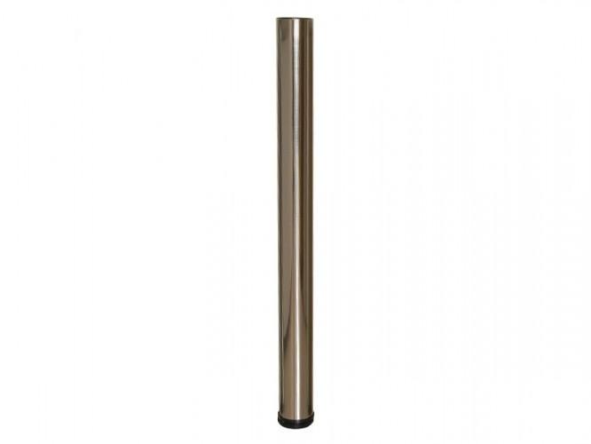 Метален крак за бюра и маси с регулиране 710 - Инокс