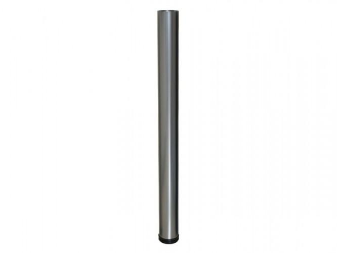 Метален крак за бюра и маси с регулиране KAMA 710 - Хром мат