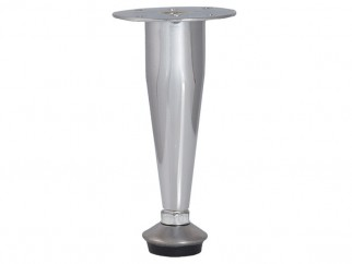 KR-003 Adjustable Furniture Leg - Chrome
