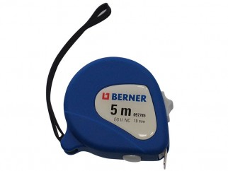 Berner Nylon Coated Tape Measure - 5 m