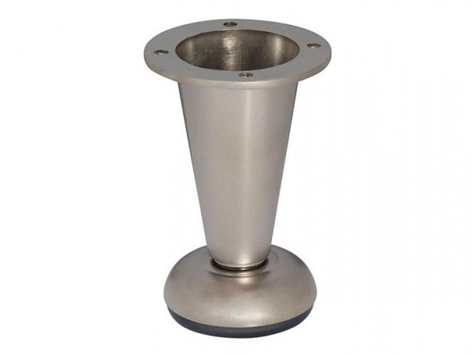 Мебелно краче с регулиране 780 - 100 мм, Никел мат