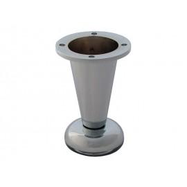 Мебелно краче с регулиране 780 - 100 мм, Хром