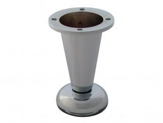 780 Adjustable Furniture Leg - 100 mm, Chrome
