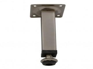 511 Adjustable Furniture Leg - 100 mm, Inox