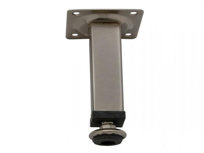 Мебелно краче с регулиране 511 - 100 мм, Инокс