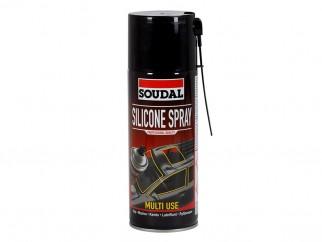 Прозрачен силиконов спрей Soudal Silicone Spray