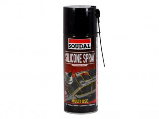 Soudal Transparent Silicone Aerosol Spray