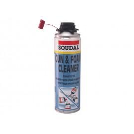 Почистващ препарат за монтажна пяна Soudal Gun & Foam Cleaner
