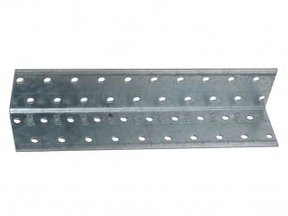Метална ъглова планка с перфорация KM 15 - 40 x 40 x 200 мм