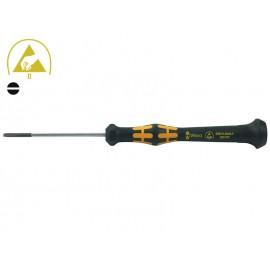 Права мини отвертка за телефони Wera Kraftform Micro 1578 A - 0.40 х 2.0 мм