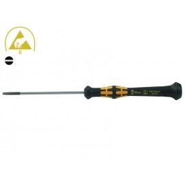 Wera Kraftform Micro 1578 A Slotted Screwdriver - 0.50 х 3.0 mm