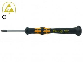 Wera Kraftform Micro 1567 Torx Screwdriver - TX 6