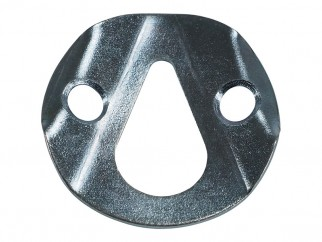 Reinforced Metal Plate With Pear-shaped Suspension Hole - ∅35 mm