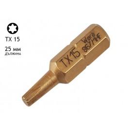 Бит накрайник за винтоверт Wera 867/1 HF - 25 мм, TX 15