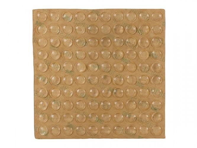 Силиконови буфери за врати на мебели 3M - ф7 мм, 100 бр.