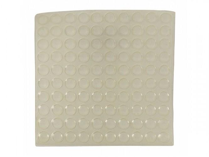 Силиконови буфери за врати на мебели 3M - ф8 мм, 100 бр.