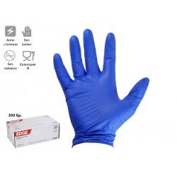 Ръкавици от нитрил за еднократно ползване Ansell Edge 82-133, М размер, 300 бр.