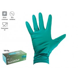 Ansell TouchNTuff 92-600 Nitrile Gloves For Single Use - Size M, 100 pcs