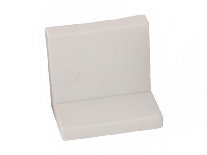 Г-образен окачвач за кухненски шкафове - Бял