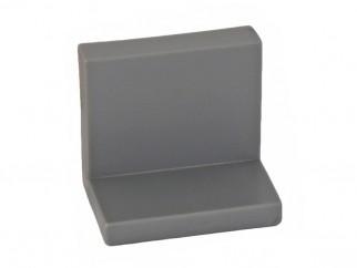 Г-образен окачвач за кухненски шкафове - Сив