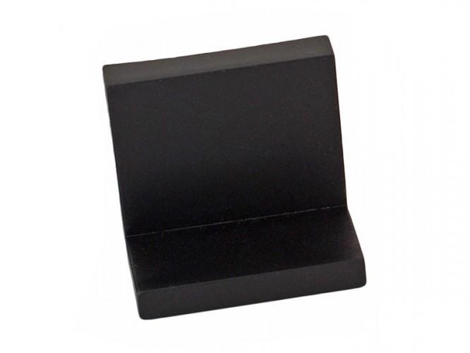Г-образен окачвач за кухненски шкафове - Черен