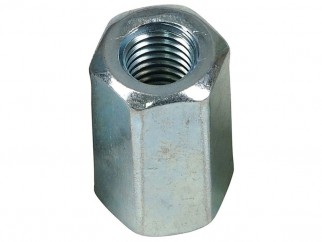 Wkret-met ZN Long Hex Nut - M10 x 30 mm