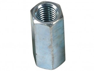 Wkret-met ZN Long Hex Nut - M12 x 40 mm