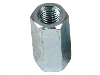 Wkret-met ZN Long Hex Nut - M16 x 50 mm