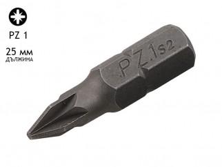 KAMA PZ Screwdriver Bit - PZ 1, 25 mm