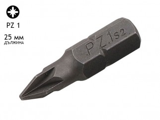 Накрайник (бит) за отвертки KAMA - PZ 1, 25 мм