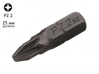 KAMA PZ Screwdriver Bit - PZ 2, 25 mm