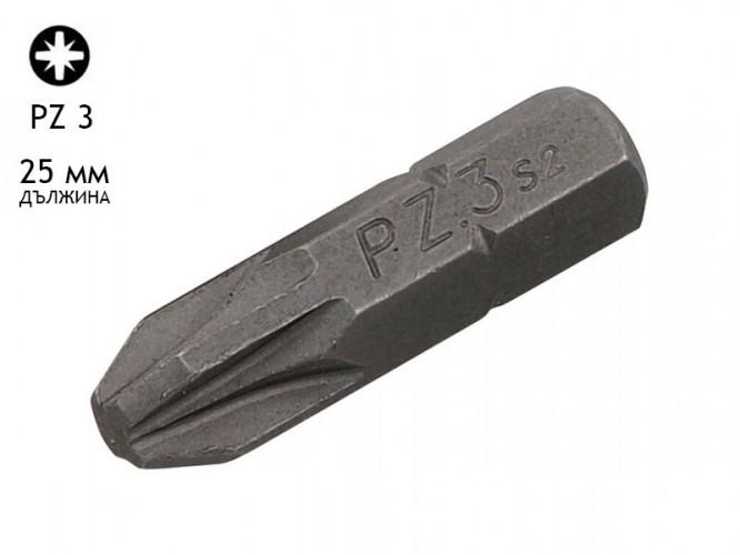 Накрайник (бит) за отвертки KAMA - PZ 3, 25 мм